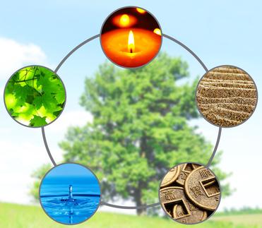 Feng Shui Zyklus 5 Elemente
